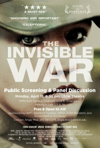 The Invisible War (flier)