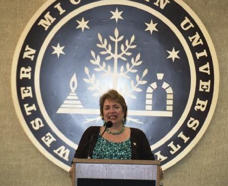 WMU Trustee Mary Asmonga-Knapp